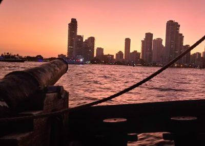 Cartagena Sunset Tour Sailing La Fantastica