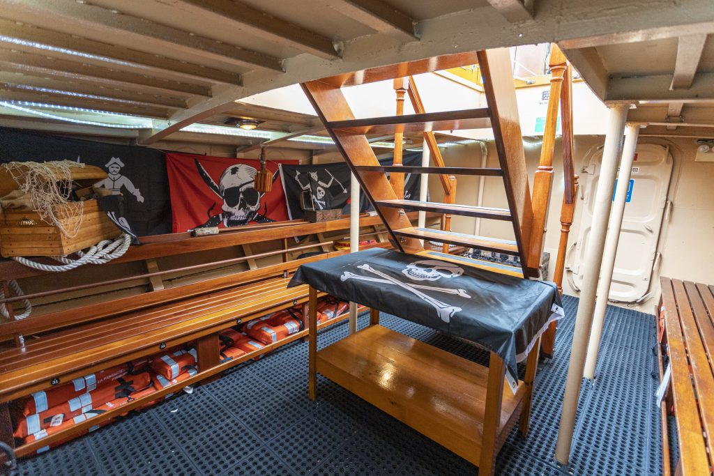 Pirate Boat Tour Cartagena Below Deck