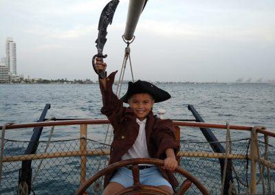 Pirate Boat Tour Cartagena La Fantastica -Child