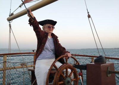 Pirate Boat Tour Cartagena La Fantastica Senior Lady