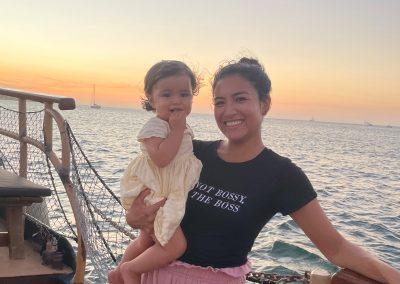 Sunset Boat Tour Cartagena La Fantastica -Baby (2)