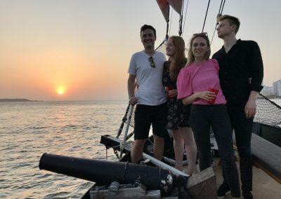 Sunset Boat Tour Cartagena La Fantastica -Friends