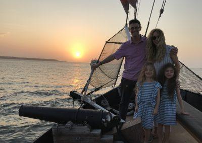 Sunset Boat Tour Cartagena Pirate Ship La Fantastica Kids